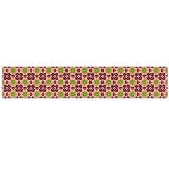 Cute Seamless Tile Pattern Gifts Flano Scarf (Large)