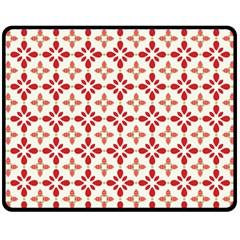 Cute Seamless Tile Pattern Gifts Double Sided Fleece Blanket (Medium)