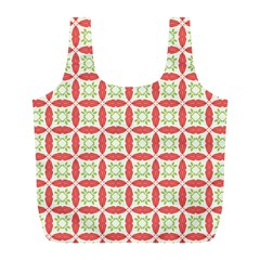 Cute Seamless Tile Pattern Gifts Full Print Recycle Bags (l)