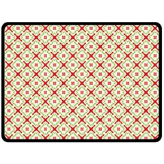 Cute Seamless Tile Pattern Gifts Double Sided Fleece Blanket (Large)