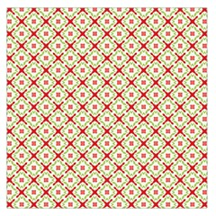 Cute Seamless Tile Pattern Gifts Large Satin Scarf (Square)