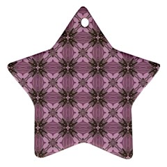 Cute Seamless Tile Pattern Gifts Star Ornament (two Sides)