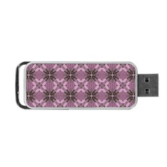 Cute Seamless Tile Pattern Gifts Portable USB Flash (Two Sides)