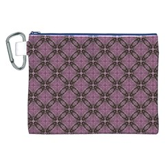 Cute Seamless Tile Pattern Gifts Canvas Cosmetic Bag (XXL)