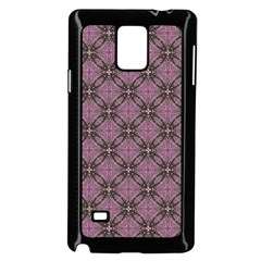 Cute Seamless Tile Pattern Gifts Samsung Galaxy Note 4 Case (Black)