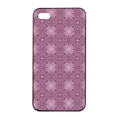 Cute Seamless Tile Pattern Gifts Apple iPhone 4/4s Seamless Case (Black)