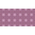Cute Seamless Tile Pattern Gifts Twin Heart Bottom 3D Greeting Card (8x4)  Back