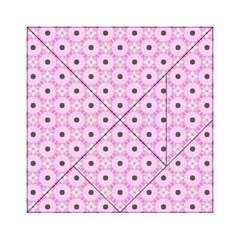 Cute Seamless Tile Pattern Gifts Acrylic Tangram Puzzle (6  x 6 )