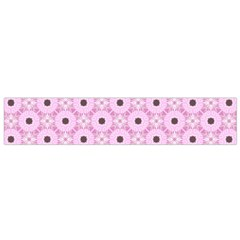 Cute Seamless Tile Pattern Gifts Flano Scarf (small)