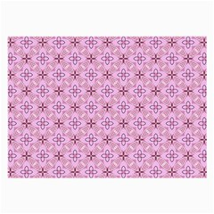 Cute Seamless Tile Pattern Gifts Large Glasses Cloth (2 Side)