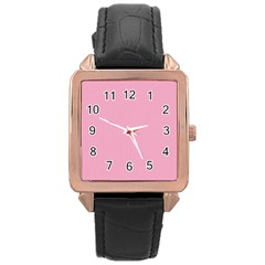 Cute Seamless Tile Pattern Gifts Rose Gold Watches
