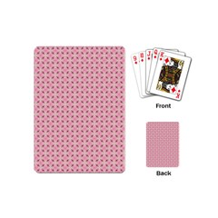 Cute Seamless Tile Pattern Gifts Playing Cards (mini)