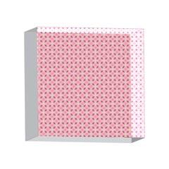 Cute Seamless Tile Pattern Gifts 4 x 4  Acrylic Photo Blocks