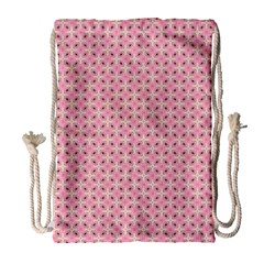 Cute Seamless Tile Pattern Gifts Drawstring Bag (large)