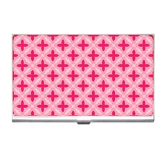 Cute Seamless Tile Pattern Gifts Business Card Holders