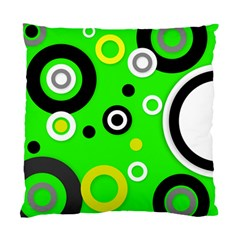 Florescent Green Yellow Abstract  Standard Cushion Cases (two Sides)