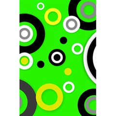 Florescent Green Yellow Abstract  5.5  x 8.5  Notebooks