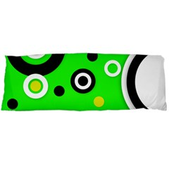 Florescent Green Yellow Abstract  Body Pillow Cases Dakimakura (two Sides)