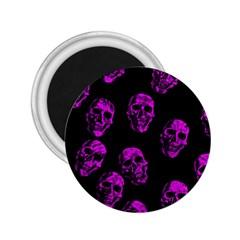 Purple Skulls  2 25  Magnets