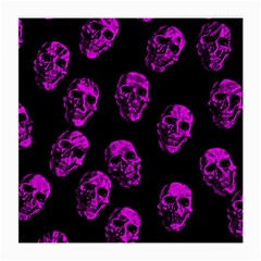Purple Skulls  Medium Glasses Cloth (2 Side)