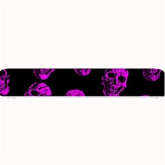 Purple Skulls  Small Bar Mats