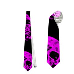 Purple Skulls  Neckties (two Side)