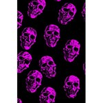 Purple Skulls  5.5  x 8.5  Notebooks Front Cover