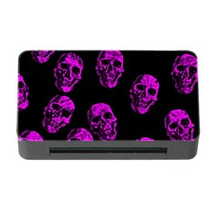 Purple Skulls  Memory Card Reader with CF