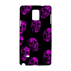 Purple Skulls  Samsung Galaxy Note 4 Hardshell Case