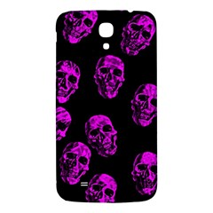 Purple Skulls  Samsung Galaxy Mega I9200 Hardshell Back Case