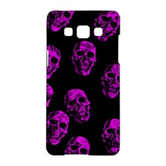 Purple Skulls  Samsung Galaxy A5 Hardshell Case