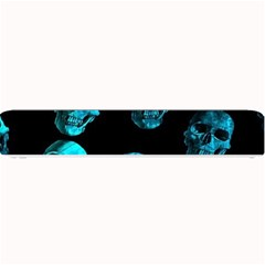 Skulls Blue Small Bar Mats
