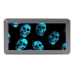 Skulls Blue Memory Card Reader (Mini)