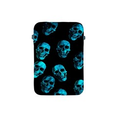 Skulls Blue Apple Ipad Mini Protective Soft Cases
