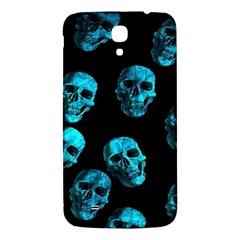 Skulls Blue Samsung Galaxy Mega I9200 Hardshell Back Case