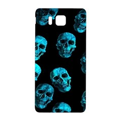 Skulls Blue Samsung Galaxy Alpha Hardshell Back Case