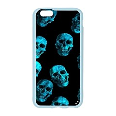 Skulls Blue Apple Seamless iPhone 6 Case (Color)