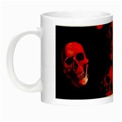 Skulls Red Night Luminous Mugs