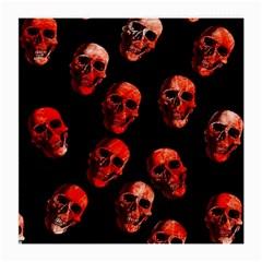 Skulls Red Medium Glasses Cloth (2 Side)