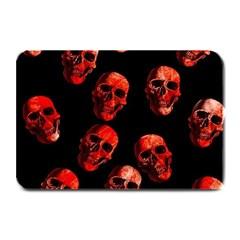 Skulls Red Plate Mats