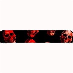 Skulls Red Small Bar Mats