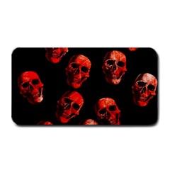 Skulls Red Medium Bar Mats