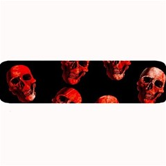 Skulls Red Large Bar Mats