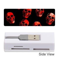 Skulls Red Memory Card Reader (Stick)