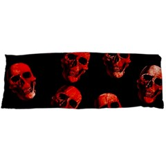 Skulls Red Body Pillow Cases (Dakimakura)