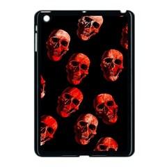 Skulls Red Apple Ipad Mini Case (black)