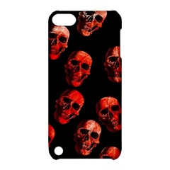 Skulls Red Apple Ipod Touch 5 Hardshell Case With Stand