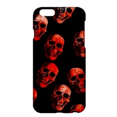 Skulls Red Apple Iphone 6/6s Plus Hardshell Case