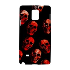 Skulls Red Samsung Galaxy Note 4 Hardshell Case