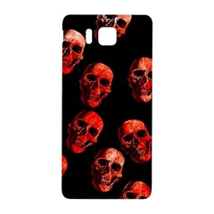 Skulls Red Samsung Galaxy Alpha Hardshell Back Case